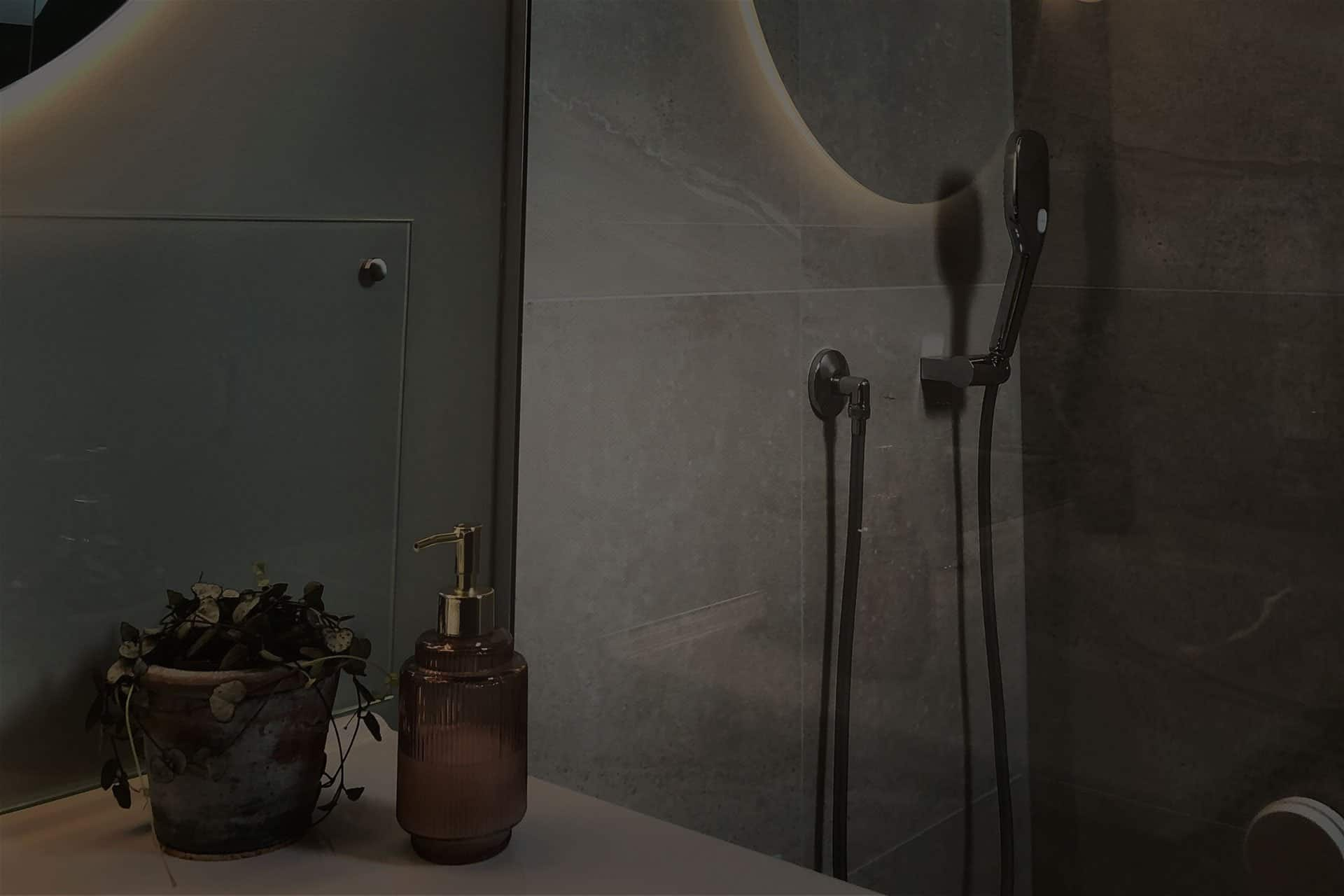 Praktisk baderom